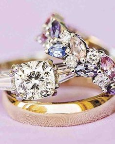 Love this setting for birthstone ring.