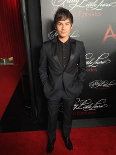 Tyler Blackburn at the #PLL 100th episode party!