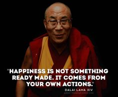 Dalai Lama Happiness Picture Quote
