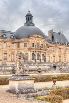 French Garden, Chateau, Vaux Le Vicomte, Gardens, France Travel Photography,  8x10, 11x14, 16x24, 20x30, photography, Home Decor