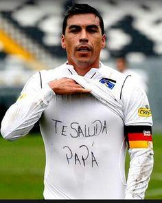 Esteban Paredes Idolo #Colo Colo Infinity War, Football Players, Iphone 8, Grande, Soccer, Baseball Cards, Memes, Necklaces, Amor