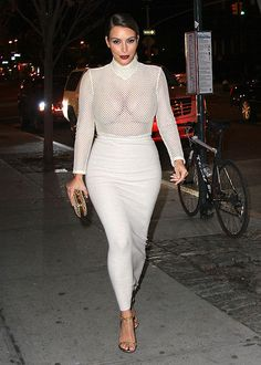 Kim Kardashian's Post-Maternity Style