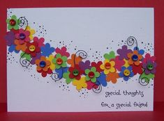 CAS84 Bright Flower Garland by bfinlay - Cards and Paper Crafts at Splitcoaststampers