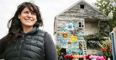 Florist Lisa Waud recruited floral designers to make $250 vacant home bloom again, flower by flower, room by room.