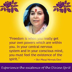 Yes!! The divine experience...bliss if for one and all - Get your self realization!