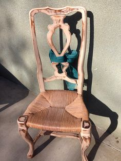 Pale pink shimmer chair by ROCK'N A FURNITURE bobbie Ashley