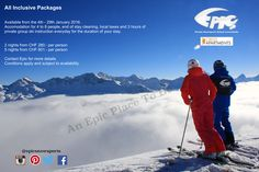 With the fresh snow in Lenzerheide it is time to start thinking about coming up for a ski. Crest Apatments and Epic have some great packages this January. Inclusive Holidays, All Inclusive Packages, Swiss Alps, Ski And Snowboard, Switzerland, Skiing, January, Powder, Packaging