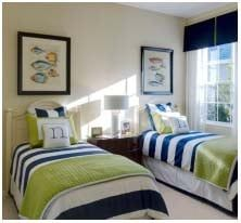 shared beach house bedroom nautical upscale Gallery @ Charlene Neal: Pure Style For my blue rooms! Beach House Bedroom, Beach House Decor, Home Decor, Beach Houses, Lake House Bedrooms, Coastal Bedrooms, Guest Bedrooms, Master Bedroom, Bedroom Boys