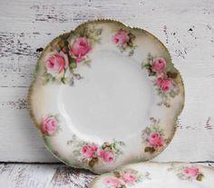 Roses Dessert Plate