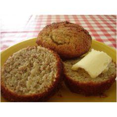 Banana bread muffins made with almond flour (I added 3/4 bar of Trader Joe's chocolate lovers dark chocolate - chopped).
