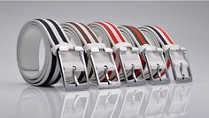 Mens Belts 2011 PU Leather 5 colors Upper Canvas Strips Mens All-match Belts Mens Waistband 244