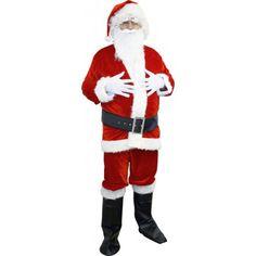 Déguisement Père Noel Panne Velours : boutique costumes pour adultes sur iDéguisements