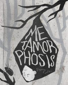 "Cover illustration of Franz Kafka's ""The Metamorphosis"" (first published in German 1915)"