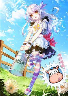 Anime Kawaii, Lolis Anime, Chica Anime Manga, Anime Chibi, Anime Love, Anime Art Girl, Manga Girl, Manga Characters, Anime Artwork