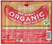 SCD- Legal Organic Hot Dogs (Applegate Farms) - After on SCD, girls did great with these hotdogs! Organic Hot Dogs, Organic Beef, Scd Recipes, Beef Recipes, Real Food Recipes, Beef Hot Dogs, Specific Carbohydrate Diet, Scd Diet, Food Swap