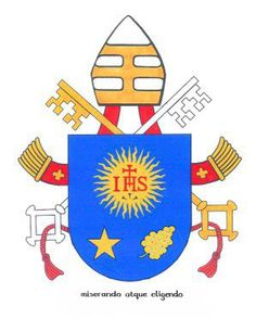 Pope Francis' coat of arms and motto, explained | Catholic World Report - Global Church news and views