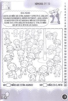 Foto: PASITO A PASITO: NÚMEROS DEL 1 AL 30 ♥♥♥DA LO QUE TE GUSTARÍA RECIBIR♥♥♥ https://picasaweb.google.com/betianaps