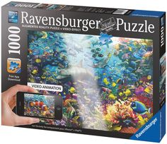 | Adult Puzzles | Puzzles | Products | UK | ravensburger.com... Augmented reality puzzles. pretty cool.