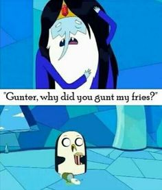 Adventure Time - Ice King & Gunter