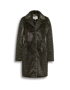 Beaumont Amsterdam animal print faux fur winter coat instore and online from Irish Handcrafts.
