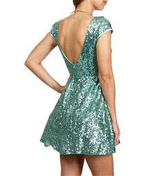 6512769d316e mint green sequin Windsor party dress cute, no itch sequined mint Green  Party dress! worn only ONCE WINDSOR Dresses Mini