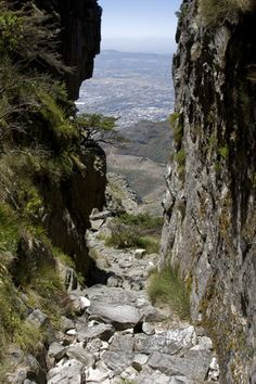 Climb the mountain - This walk is Platteklip Gorge, one of the easiest