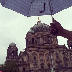 The time my friend protected the Berliner Dom from the rains! @vishalkpp #Berlin #travel #friends #Germany #visitBerlin #perspective