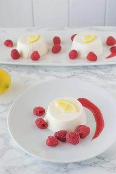 cotta with raspberry sauce lemon panna cotta with raspberry sauce ...