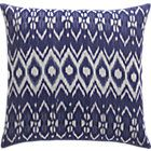 Ikat Pillow with Feather Down Insert   Crate & Barrel
