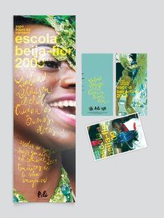 Brochure / Beija Flor Exhibition - Poster & Flyer on the Behance Network