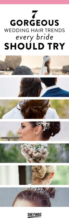 7 Gorgeous Wedding Hair Trends Every Bride Should Consider