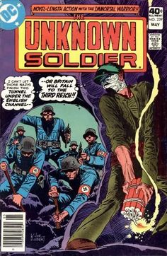 Unknown Soldier Near Mint Minus Condition* for sale online Dc Comic Books, Comic Book Covers, Comic Art, Joe Kubert, War Comics, Marvel Comics, Unknown Soldier, Story Arc, Silver Age