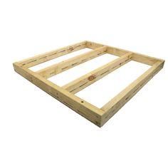 Good Times 1116 x 1116 x 90mm Modular Decking Base Frame Kit I/N 8451187 | Bunnings Warehouse