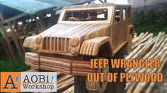 Jeep Wrangler Out Of Plywood