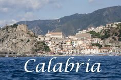 Cara terra mia! Rome and Calabria are where our family's from....