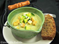 20 chilled soups that cool off the dog days of summer: Zucchini vichyssoise