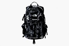Supreme x North Face backpack. Not really feelin the jacket, but I love the print on this and I've needed a new backpack for a while.