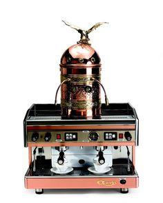 The Most Expensive Kitchen Appliances: Hammacher Double Espresso Machine Price: $8,000  With an ornate copper dome topped with a brass eagle, the Italian Astoria Dual Espresso machine... read more