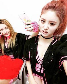 EXID's Junghwa instagram update with LE
