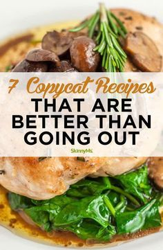 Instead of ordering takeout make one of these delicious copycat recipes. They'll be healthier fresher and much less expensive! #dinner #cleaneating #recipes Healthy Family Meals, Heart Healthy Recipes, Healthy Dinner Recipes, Delicious Recipes, Tasty, Yummy Food, Top Recipes, Copycat Recipes, Gourmet Recipes