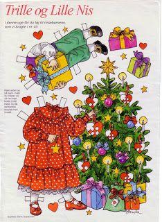 Trille og Lille Nis ( of 7) | bonecas de papel, paper doll, muñecas de papel