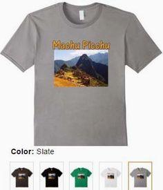 Machu Picchu Peru Ruins T-Shirt
