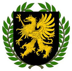 The Griffin is the most used imaginary creature used in British heraldry. It is a combination between a lion, as well as an eagle. When only the head of the griffin is used on a coat of arms,. Bird Tattoo Sleeves, Griffin Family, Family Shield, Eagle Logo, Fantasy Images, Cover Up Tattoos, Family Crest, Crests, Coat Of Arms