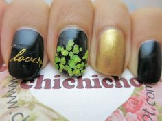 Valentine's Day Nail Art without any Red | chichicho~ nail art addicts