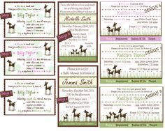 Hey, I found this really awesome Etsy listing at http://www.etsy.com/listing/101264137/willow-deer-baby-shower-invitation