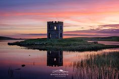 Trademark Global Michael Blanchette Photography 'Towering Sunset' Canvas Art - 47 x 30 x 2 Artist Canvas, Canvas Art, Sunset Canvas, Outer Hebrides, Outdoor Entertaining, Find Art, Framed Artwork, Scotland, Fine Art Prints
