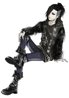 ▪ Uta ▪ ウタ ▪ Tokyo Ghoul ▪ 東京喰種- ▪ http://touch.pixiv.net/member_illust.php?mode=manga&illust_id=48831348