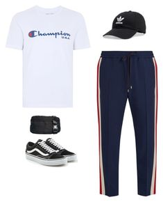 """Untitled #52"" by rayensulistiawan on Polyvore featuring Topman, Gucci, Opening Ceremony, adidas, Vans, men's fashion and menswear"
