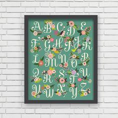 Hey, I found this really awesome Etsy listing at http://www.etsy.com/listing/173967382/home-decor-nursery-wall-art-floral