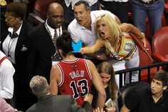 Filomena Tobias, the angry Heat fan who gave Joakim Noah the finger, has a crazy backstory #sports #nba #miami #basketball